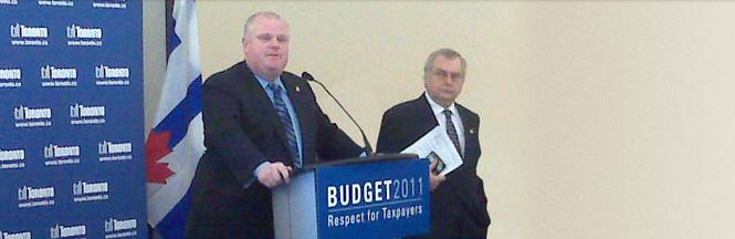 Toronto Budget 2011