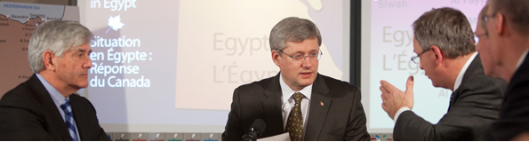 Canada Provides Consular Assistance to Canadians Leaving Egypt