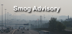 A smog advisory continues to be in effect for southern, central, and eastern Ontario.