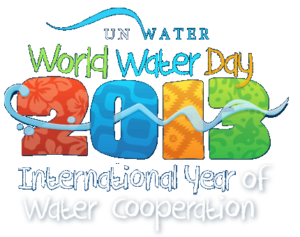 United Nations' image: World Water Day 2013, International Year of Water Cooperation