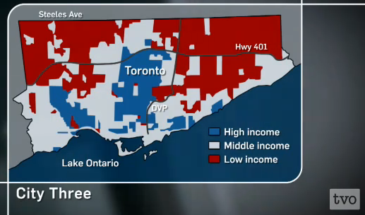 "The Agenda with Steve Paikin: David Hulchanski's study - ""Three Cities Within Toronto."""