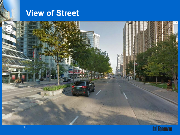 City of Toronto's image: View of Yonge Street